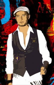El estilista Angel Diez.